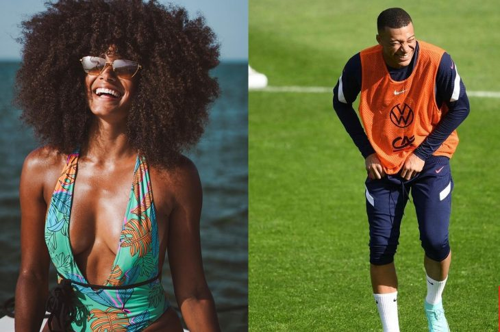 Who is Kylian Mbappes girlfriend Alicia Aylies Feels The Love Of Football 3