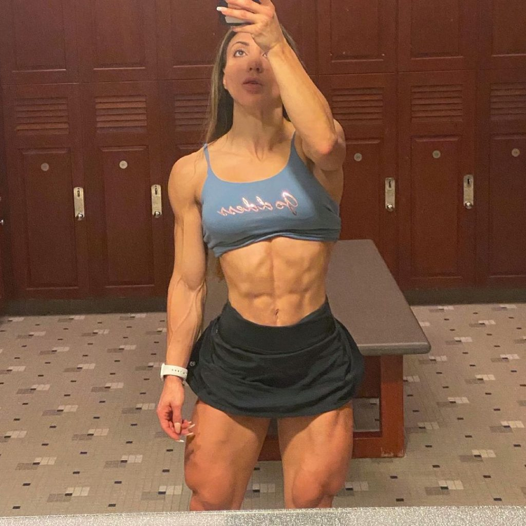 Who is Sunny Andrews one of the most muscular women in the world 5