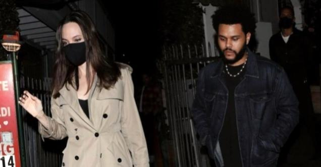 Are Angelina Jolie and The Weeknd in a relationship 2