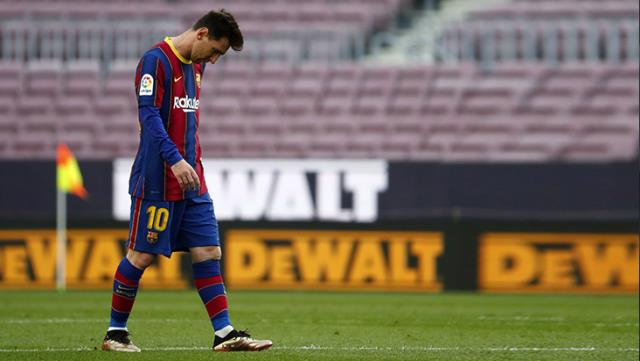 Barcelona in danger of not getting Lionel Messis license