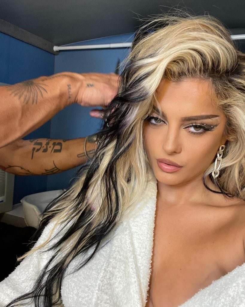Bebe Rexha Reveals Her Weight While Dancing Half Naked On Tiktok 3