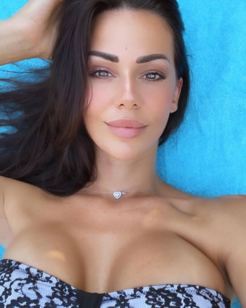 Erjona Sulejmani Continues to Wear Outfits That Highlight Her Breasts 1