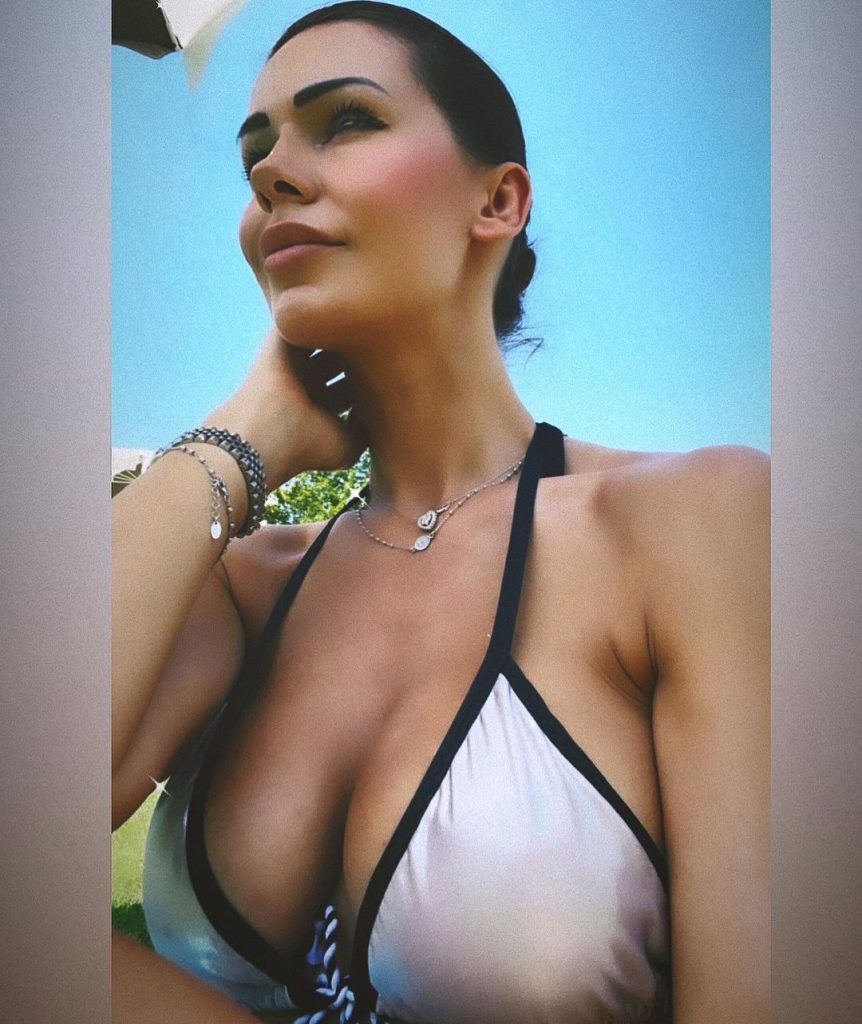 Erjona Sulejmani Continues to Wear Outfits That Highlight Her Breasts 3