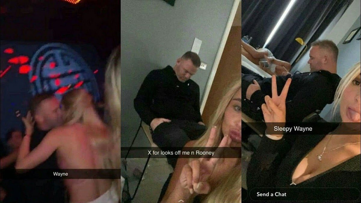 Who is Tayler Ryan in the episode where he hangs out with Wayne Rooney Details about Snapchat model 1