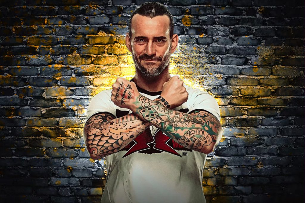 AEW All Out 2021 CM Punk Debut 1