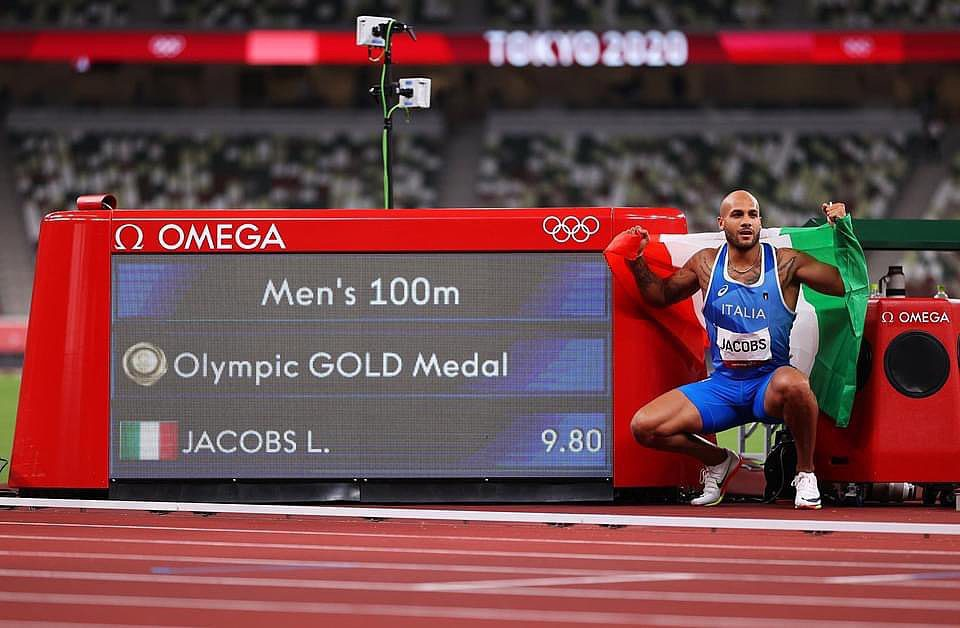 Lamont Marcell Jacobs sets new 100m record with victory for Italy 4