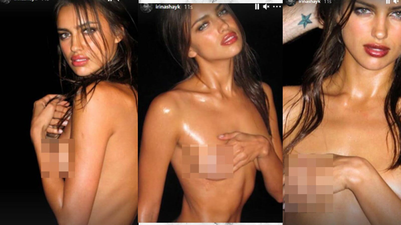 Model Irina Shayk Reveals A Charming Beauty With Her Nude Shares 2