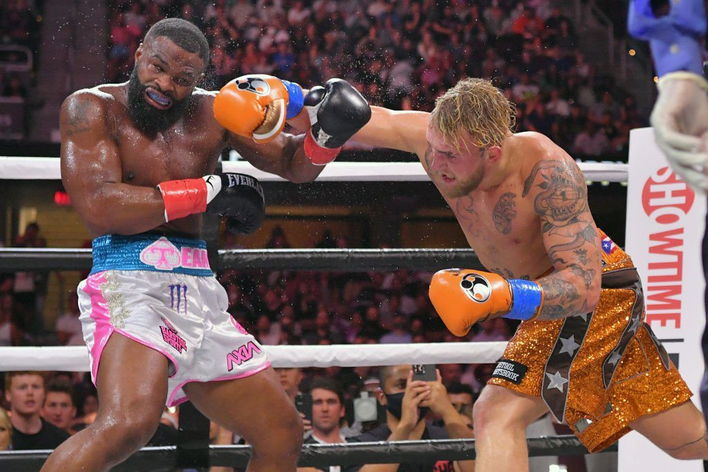 Tattoos and results after Jake Paul and Tyron Woodley Fight 3