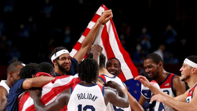 USA becomes Olympic champion for the 4th time in a row 3