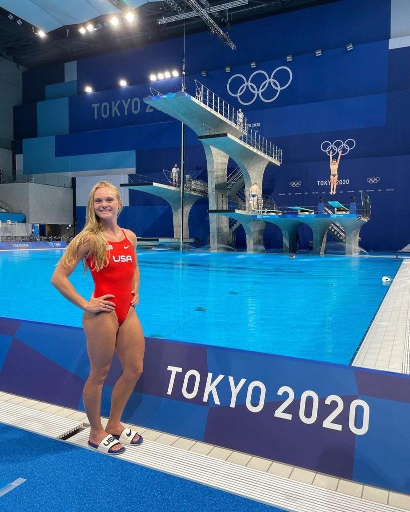 Who is Delaney Schnell the silver medalist at the 2020 Tokyo Olympics 2