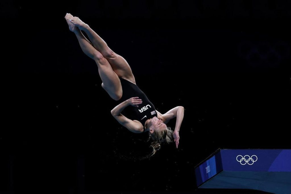 Who is Delaney Schnell the silver medalist at the 2020 Tokyo Olympics 3