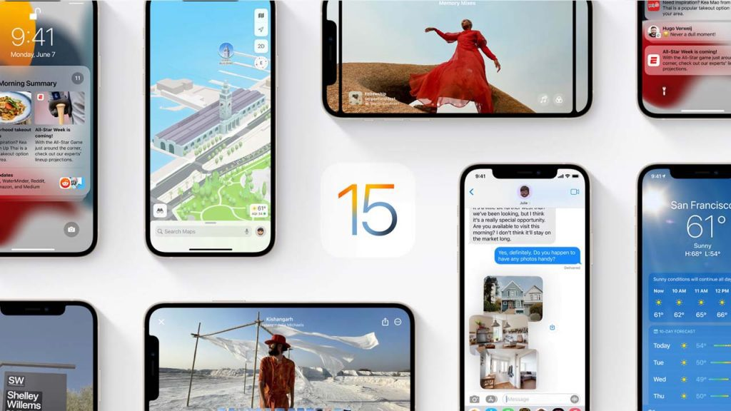 Apple has opened iOS 15 to access Whats new with Apple iOS 15