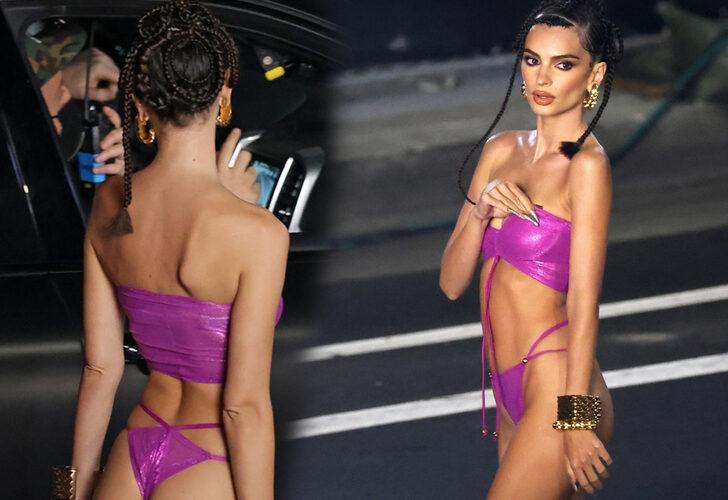 Emily Ratajkowski is hot on the runway and for her Savage X Fenty collection 2