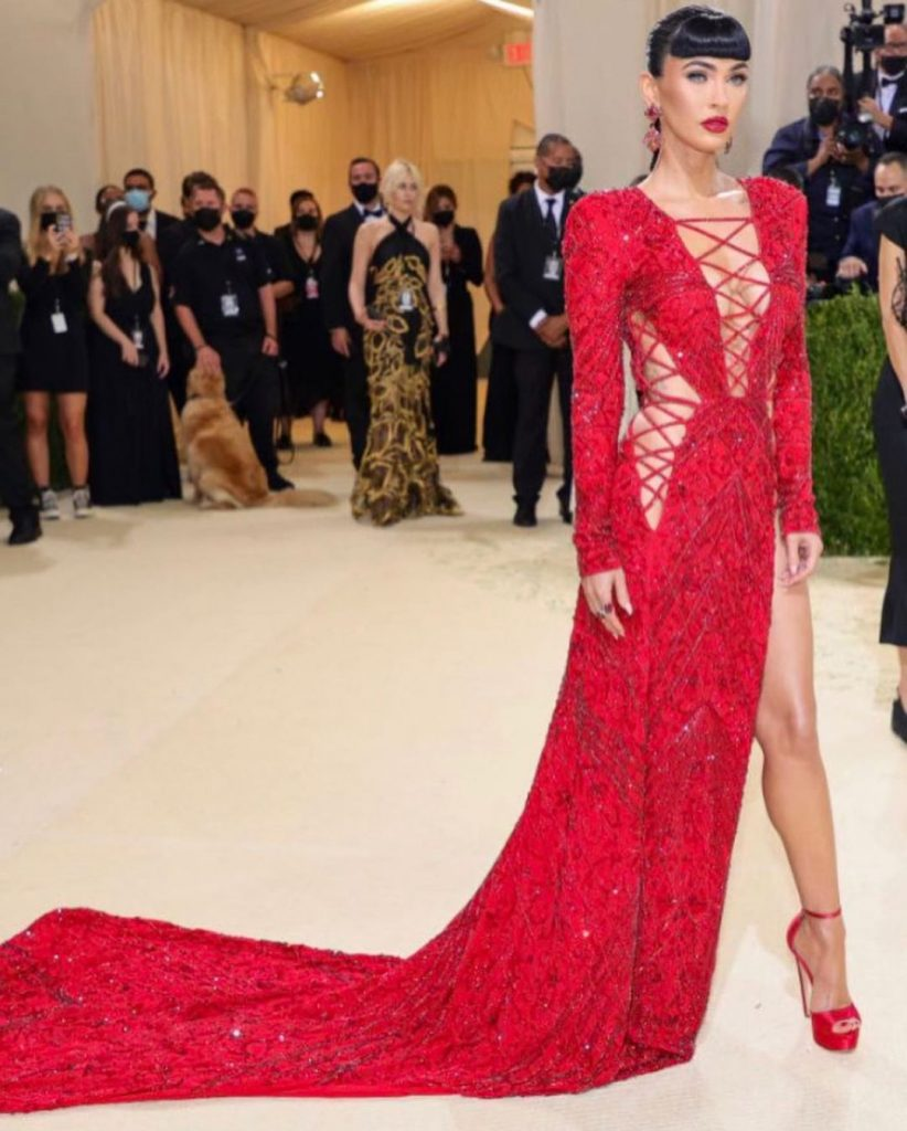 Megan Fox reveals her thoughts on being Hollywoods sex symbol at the Met Gala 1