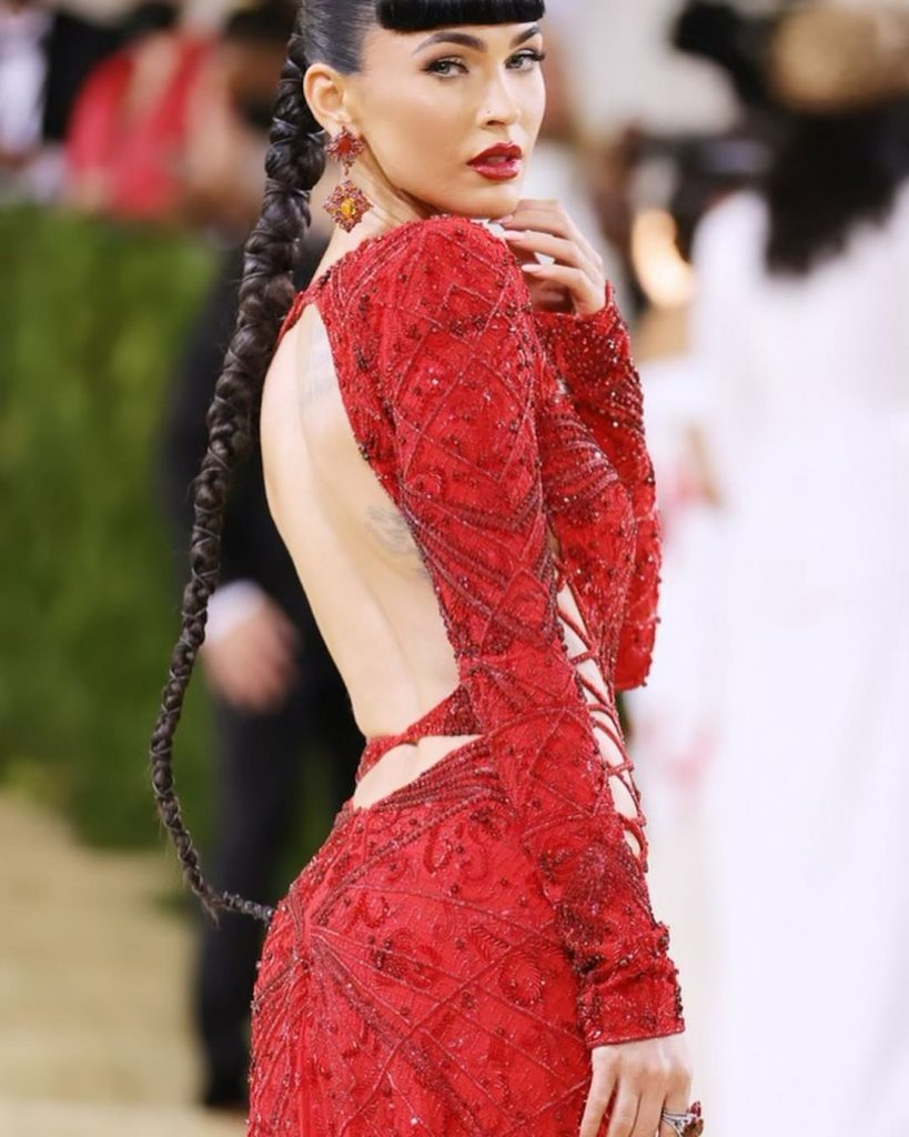 Megan Fox reveals her thoughts on being Hollywoods sex symbol at the Met Gala 2