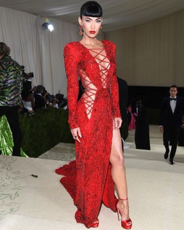 Megan Fox reveals her thoughts on being Hollywoods sex symbol at the Met Gala 3