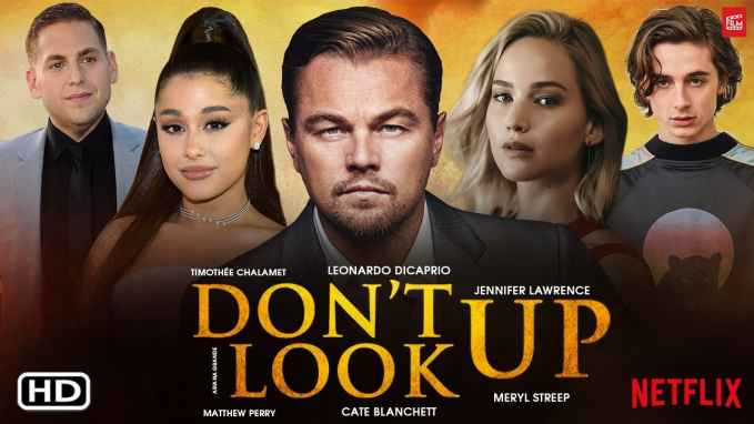 Netflixs All Star Movie DONT LOOK UP 1