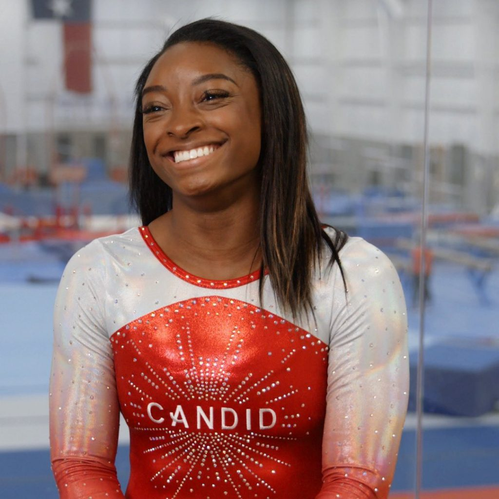 Simone Biles is not only a gymnast but also a model 2