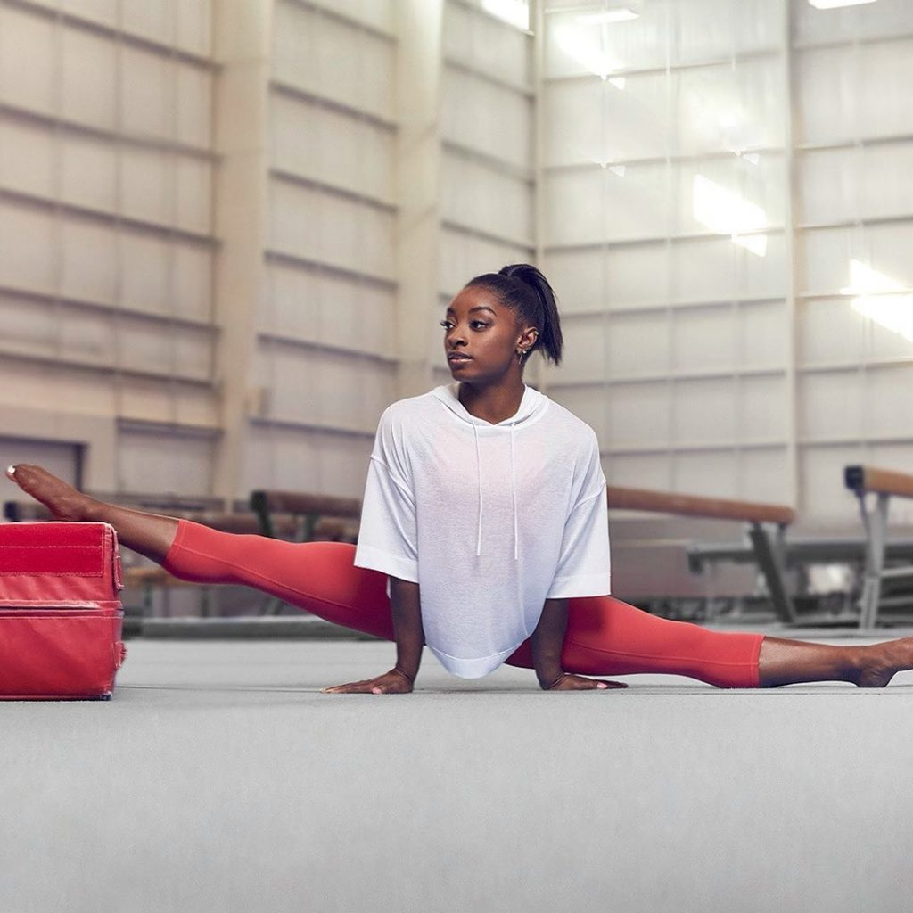 Simone Biles is not only a gymnast but also a model 5