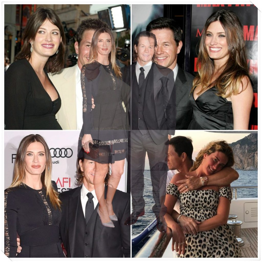 The Happy Marriage of Mark Wahlberg and Rhea Durham 2