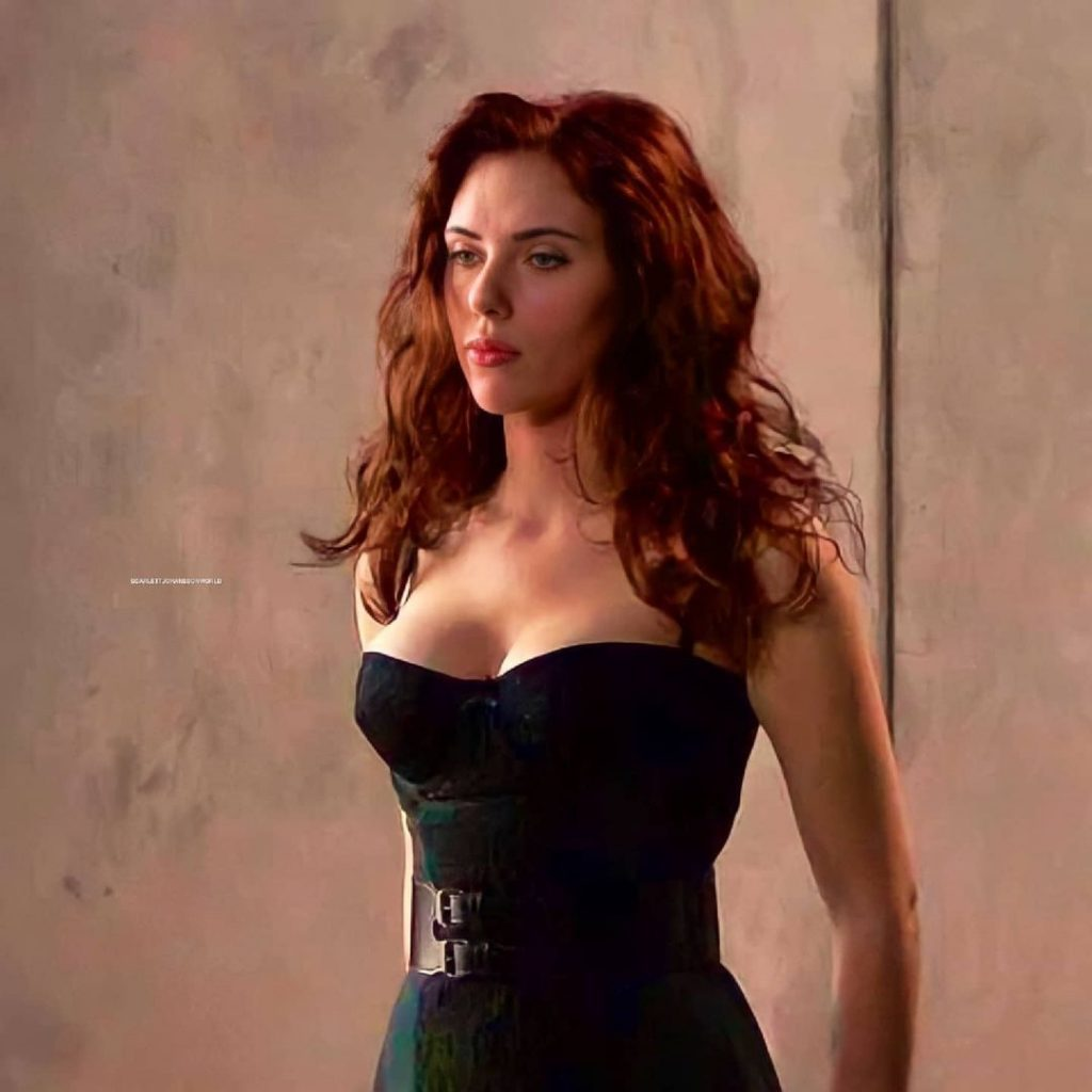 The golden ratio proves that Scarlett Johansson is one of the sexiest actors in Hollywood 7