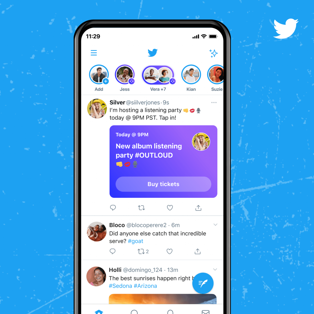 Twitter Encourages Users to Create Content with Spaces 2